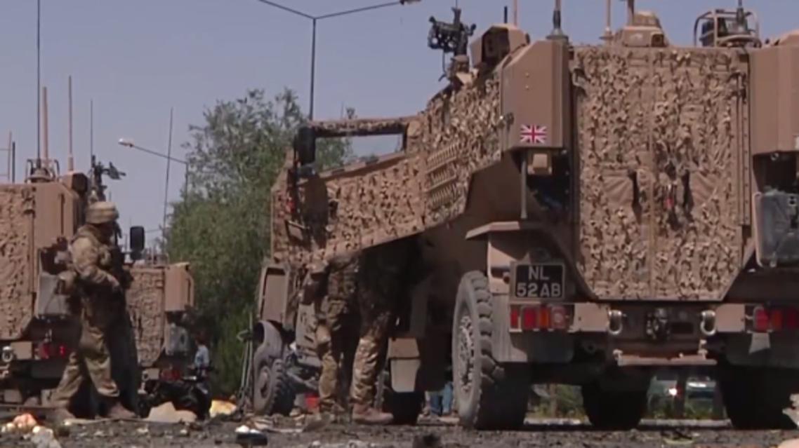 حمله انتحاری به کاروان نیروهای ناتو در قندهار افغانستان