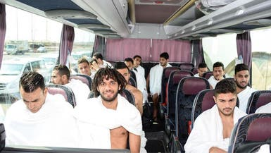 المنتخب المصري يصل إلى السعودية لأداء مناسك العمرة