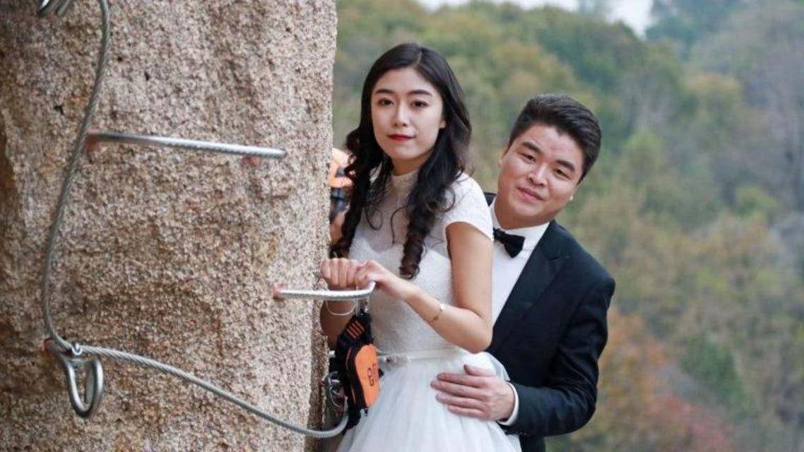 بالصور هل هذا أخطر خفل زفاف في العالم