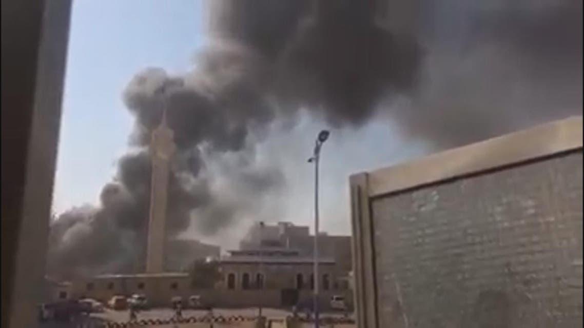 THUMBNAIL_ هجوم انتحاري على مقر شرطة في عدن