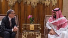 Saudi Crown Prince meets with Bill Gates to review joint development programs