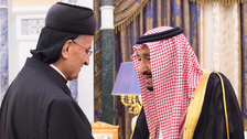 Saudi King Salman receives Maronite Patriarch Bechara Boutros al-Rahi