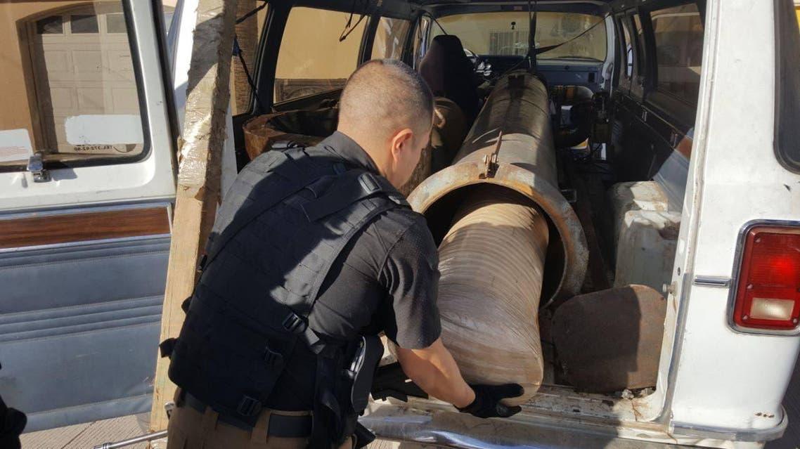 مدفع تهريب مخدرات المكسيك