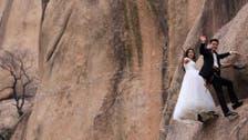بالصور.. هل هذا أخطر حفل زفاف في العالم؟
