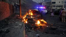 Suicide car bomber targets security forces in Yemen's Aden
