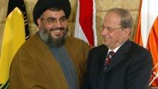 لبنانی صدر بھی الریاض کے خلاف حزب اللہ کی اشتعال انگیز مہم میں شامل