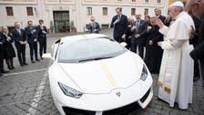 Pope auctions Lamborghini to rebuild Christian areas in Iraq