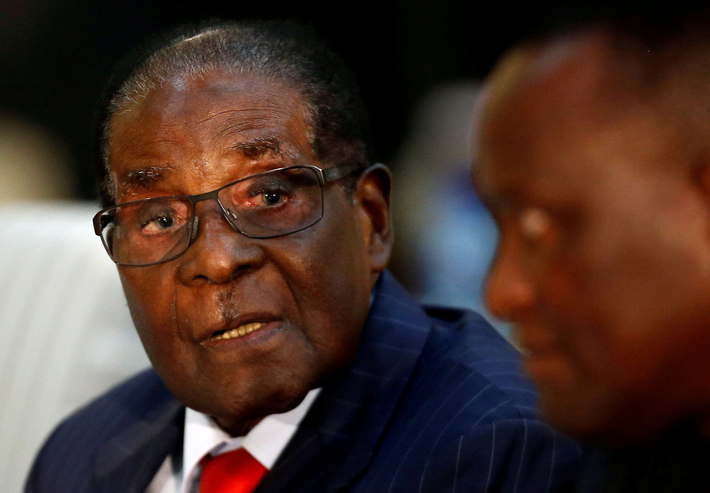رابرت موگابه