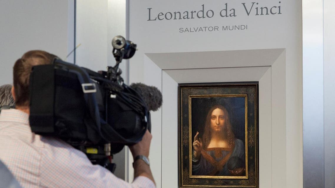 """Salvator Mundi,"" an ethereal portrait of Jesus Christ which dates to about 1500, the last privately owned Leonardo da Vinci painting. (Reuters)"