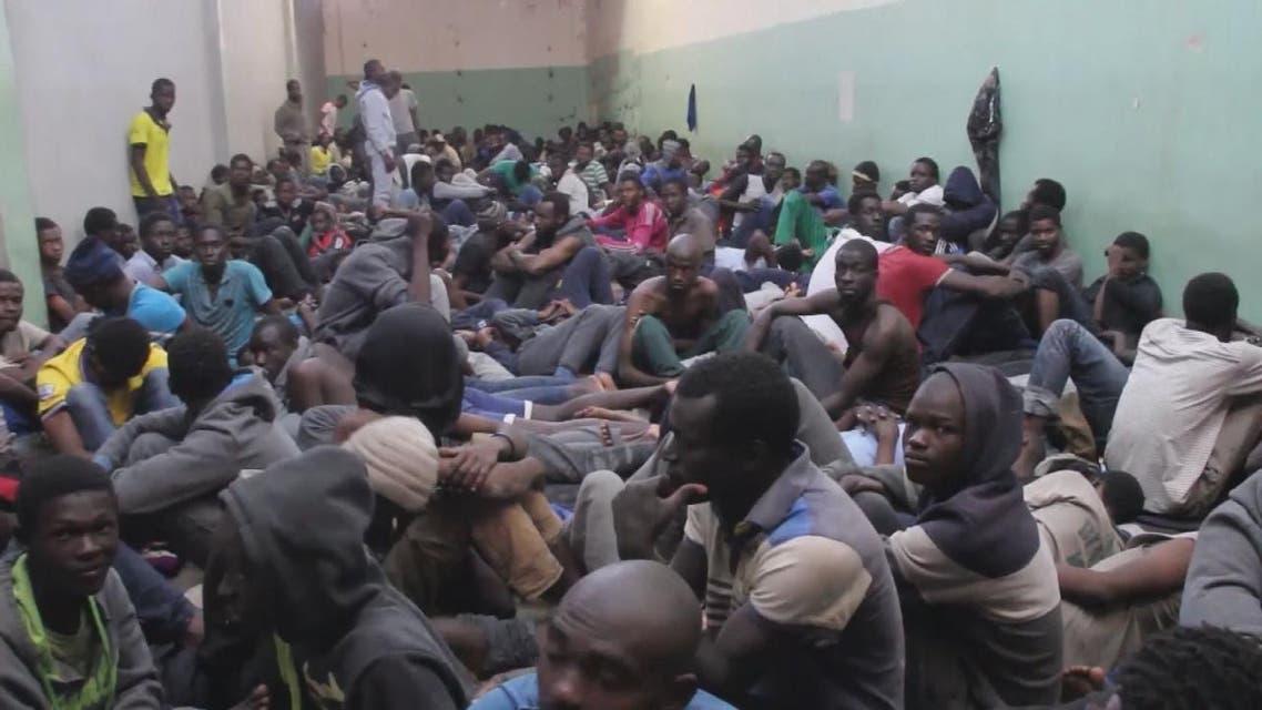 THUMBNAIL_ مزاد لبيع البشر في ليبيا
