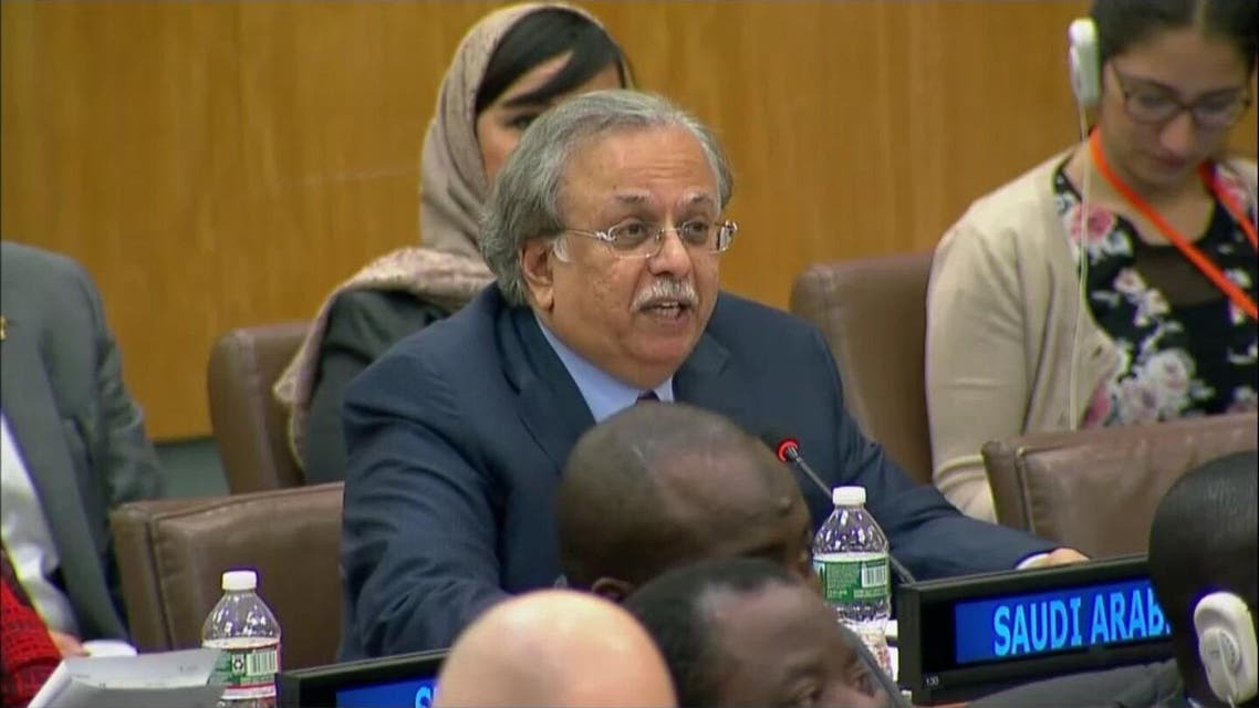 عبدالله المعلمي السفير السعودي لدى الأمم المتحدة