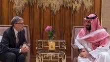 سعودی ولی عہد اور بل گیٹس کا مشترکہ ترقیاتی پروگراموں پر تبادلہ خیال