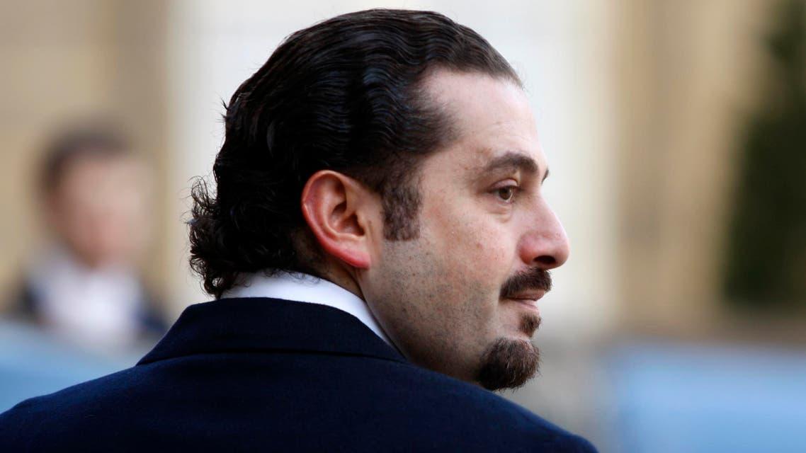 Saad Hariri leaves the Elysee Palace after a meeting with Nicolas Sarkozy in Paris January 2, 2009. (Reuters)