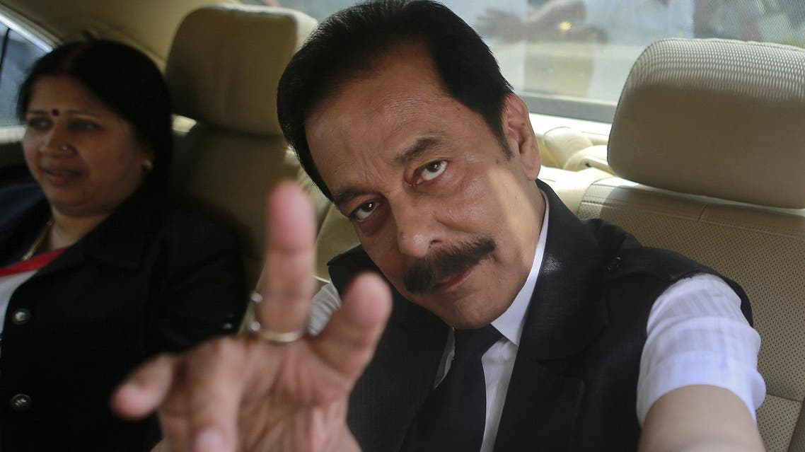 In 2014, Subrata Roy was imprisoned for selling bogus bonds to investors. (Reuters)