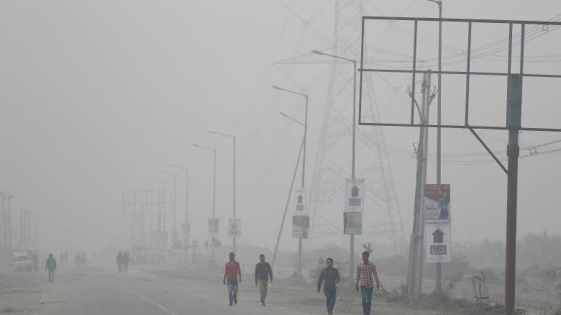 India in pictures: Delhi's toxic smog
