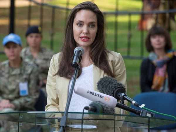 أنجلينا جولي تدين العنف الجنسي ضد الروهينغا
