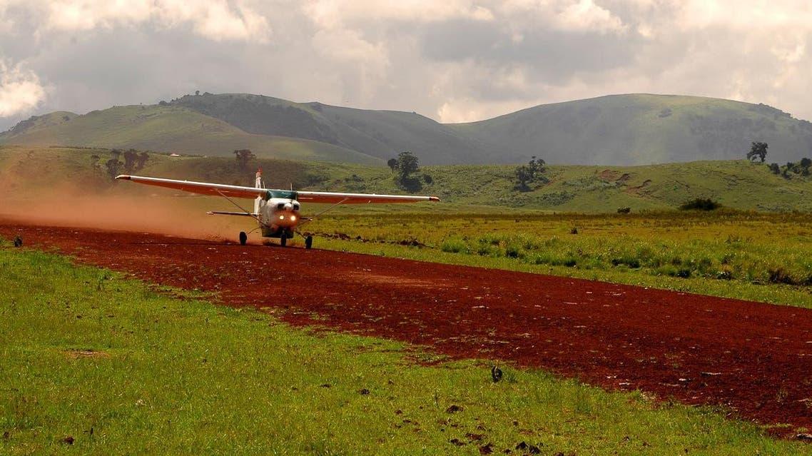 The Cessna Caravan plane, carrying a single pilot and ten passengers, had an incident in the Empakaai area. (Photo via: Coastal Aviation)
