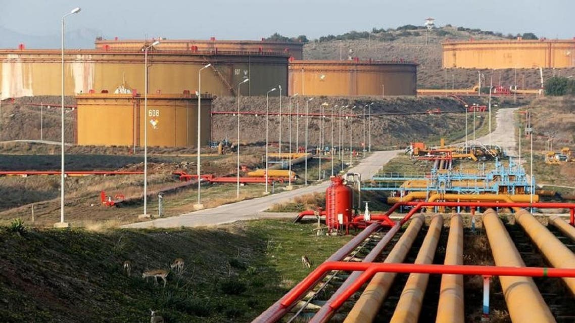 Oil depots in the Turkish port of Ceyhan on the Mediterranean. (Reuters)