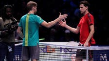 Time up for Thiem as Goffin reaches semi-finals