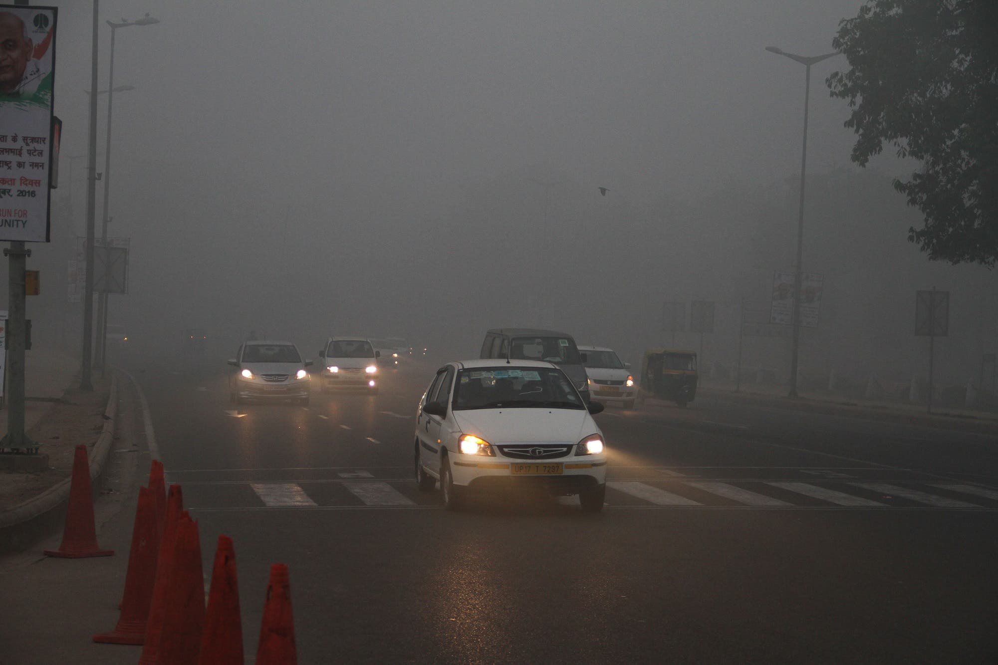 Residents have been through a harrowing experience as persistent blanket of smog engulfed the city since last week. (Supplied)