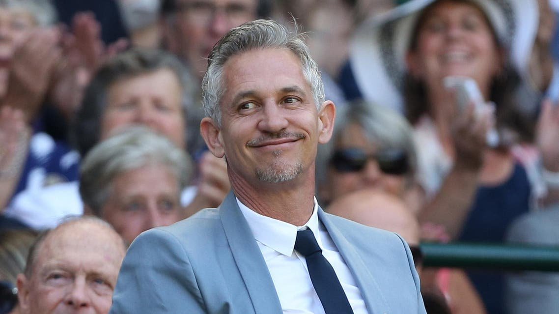 Gary Lineker in the royal box during Wimbledon Championships 2015 on July 4, 2015. (AFP)