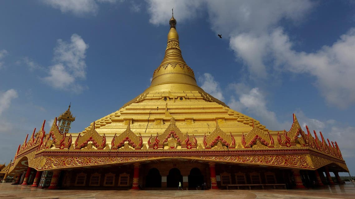 A general view of Global Vipassana Pagoda is seen in Mumbai on August 31, 2016. (Reuters)