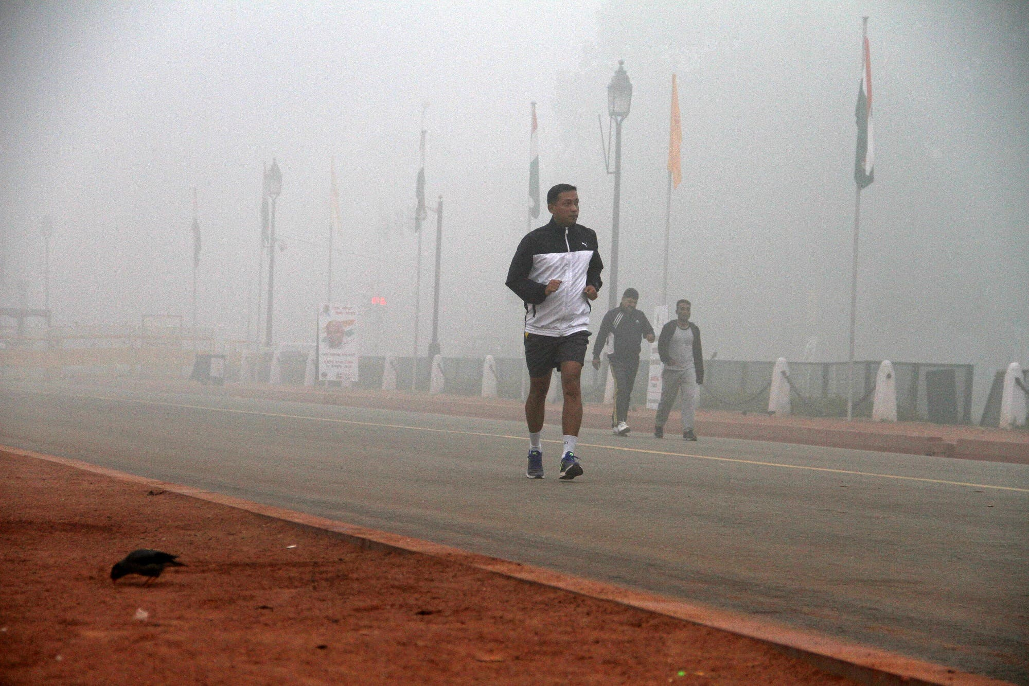 Bad air quality has also forced some diplomats to move their positions. (Supplied)