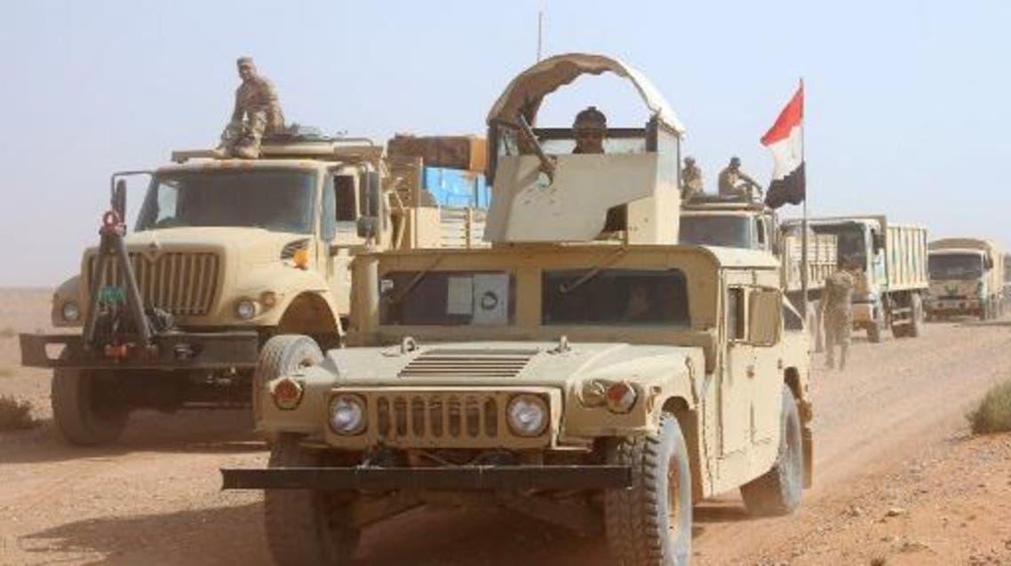 القوات العراقية في الأنبار