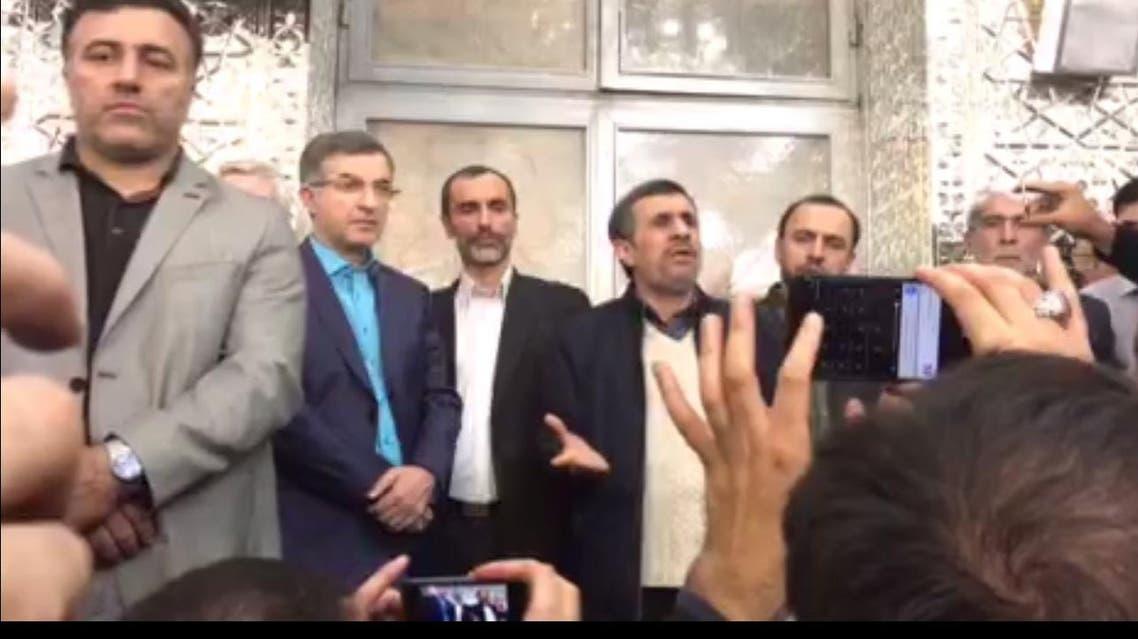 كلمة أحمدي نجاد وسط أنصاره
