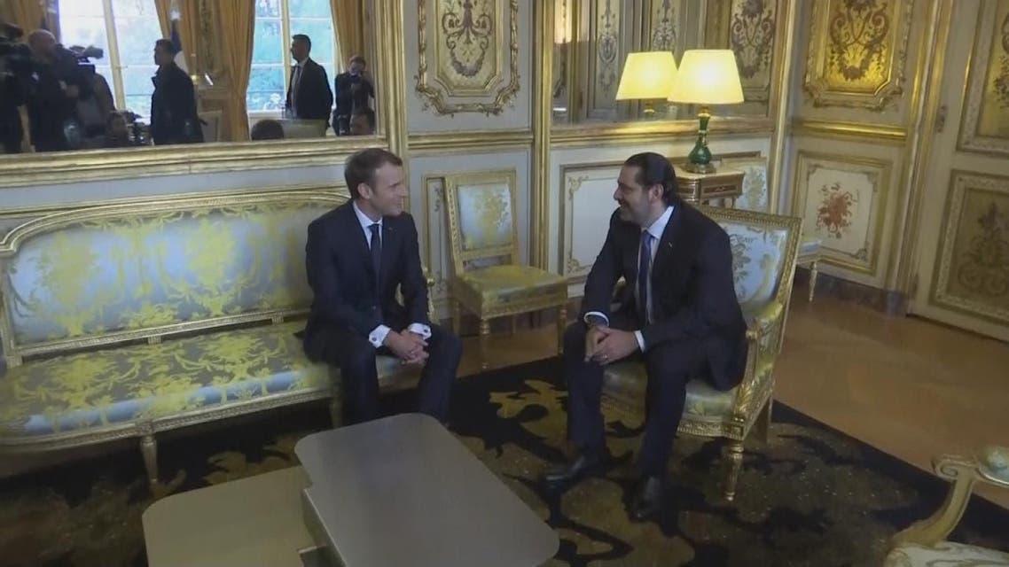 THUMBNAIL_ الحريري يصل فرنسا