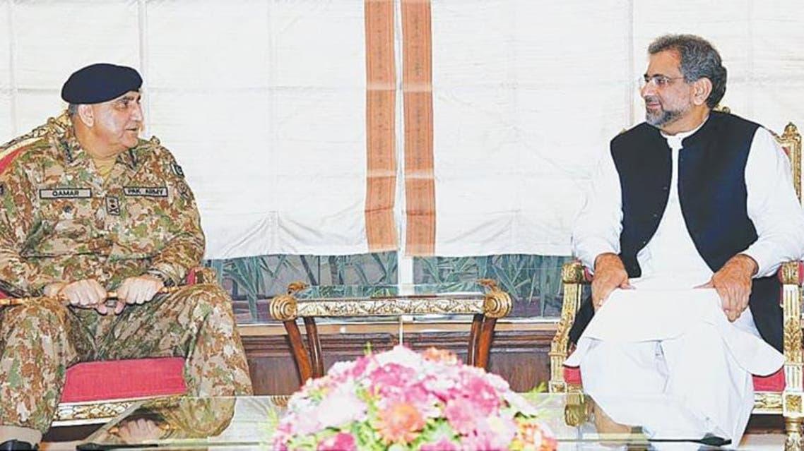 General Bajwa + Khakan Abbasi
