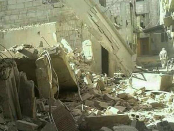 مجزرة جديدة بالغوطة.. النظام يقصف حرستا بغاز الكلور
