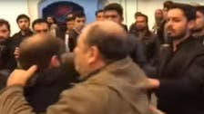VIDEO: Hardliners attack Ahmadinejad loyalists at sit-in protest in Iran