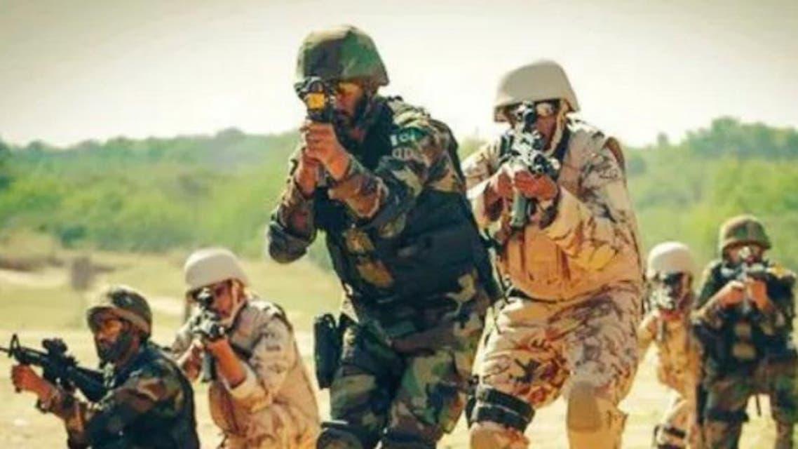 Pakistan and sudia arabia militray drill