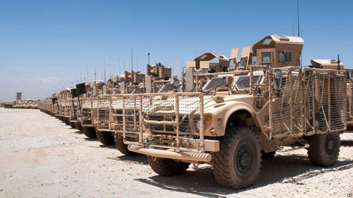 در ادامه کمکهایش امریکا به افغانستان 495 تانک زره فرستاد