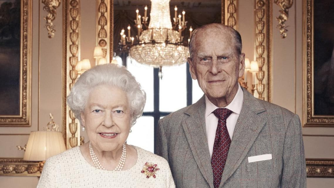 Queen Elizabeth II and Prince Philip will celebrate their platinum wedding anniversary on November 20, marking 70 years since they married. (AFP)