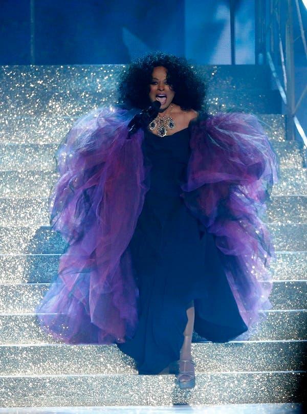 Singer Diana Ross performs. (Reuters)