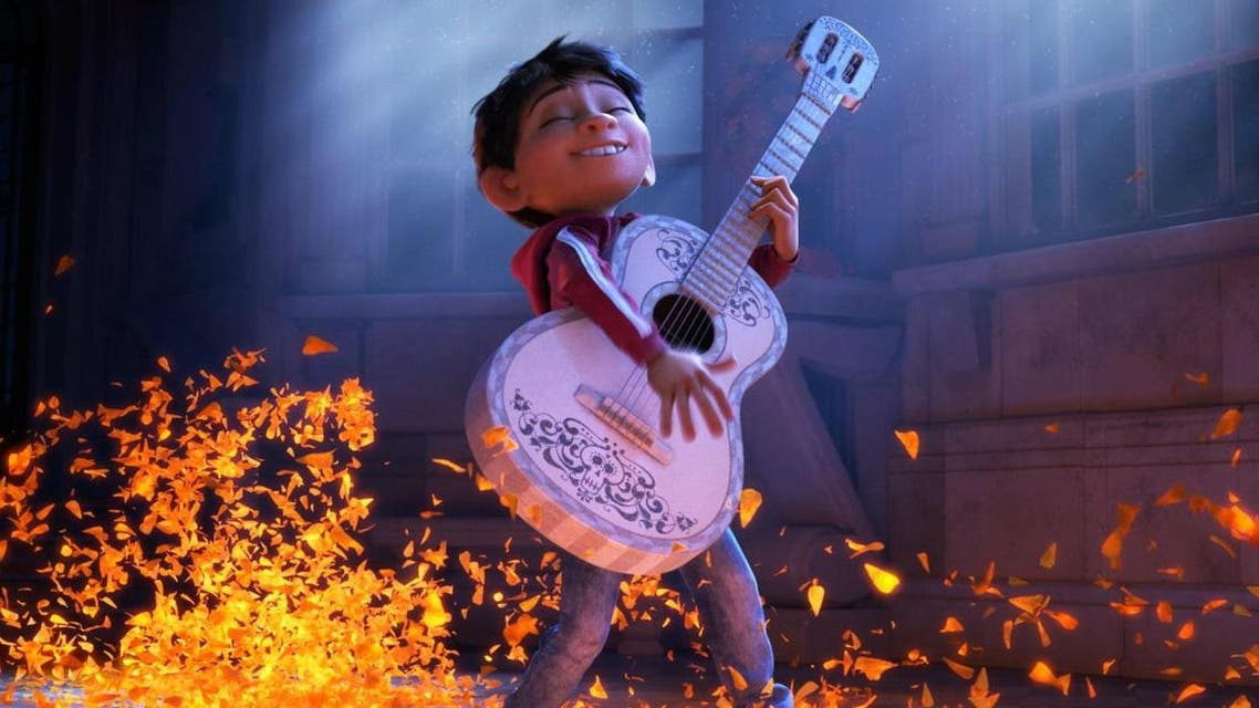 """The Mexico-set """"Coco"""" is Pixar's first feature film with a minority lead character, and one of the largest American productions ever to feature an almost entirely Latino cast.  That makes it something of a landmark event, one that has already set box-office records in Mexico where it opened several weeks early.  But it also took a lot of homework and a lot of outreach for Pixar to convince Latinos that the production wasn't just big-budget cultural appropriation. Such fears spiked when Disney tried to trademark """"Dia de los Muertos"""" in 2013, only to abandon the effort after a backlash.  Charting a different path, Pixar brought in cultural consultants to create an authentic celebration of Mexican folklore, traditions and music. (Pixar)"""