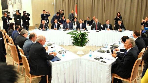 قمة بين مصر وقبرص واليونان تبحث الإرهاب والهجرة والطاقة