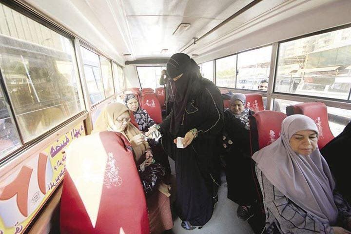 Egyptian company launches women-only buses to deter harassment