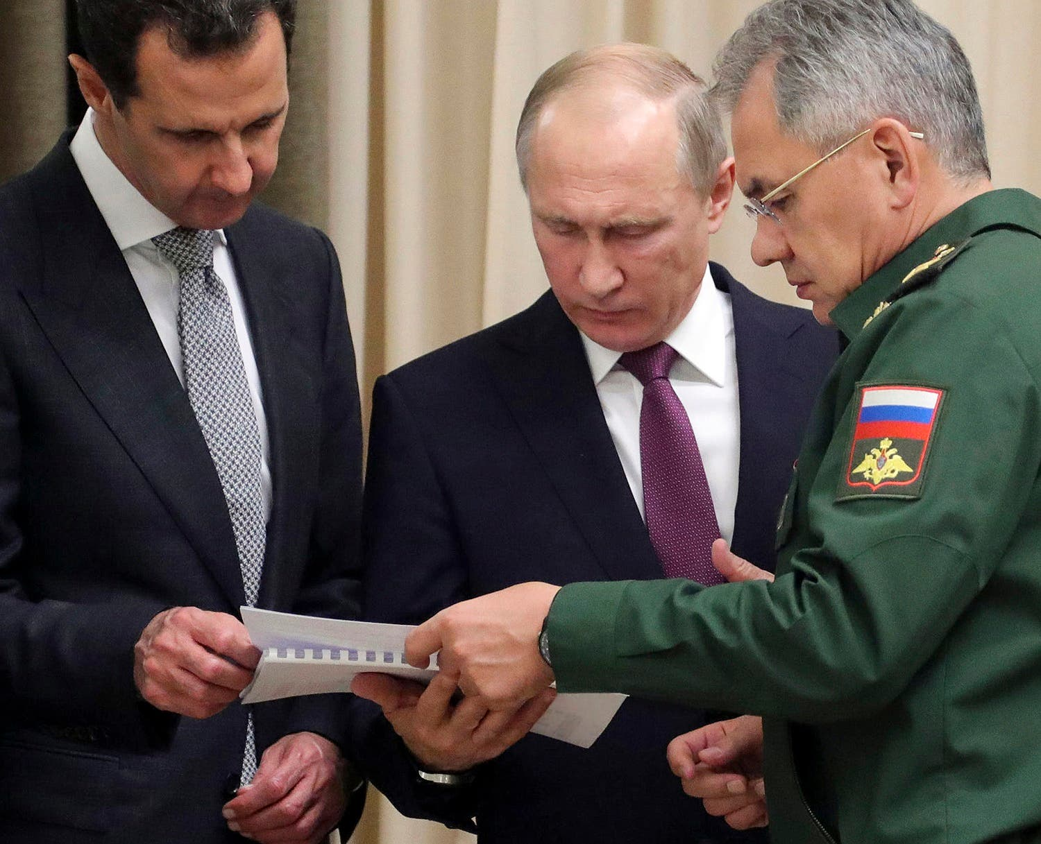 Putin has met with Assad ahead of a summit between Russia, Turkey and Iran and a new round of Syria peace talks in Geneva, Russian and Syrian state media reported Tuesday. (AP)