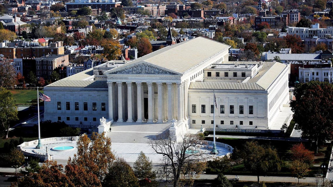 A general view of the US Supreme Court building in Washington on November 15, 2016. (Reuters)