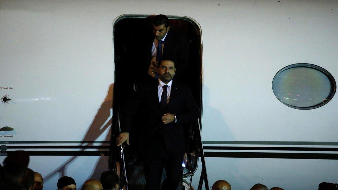 Hariri return to lebanon Reuters