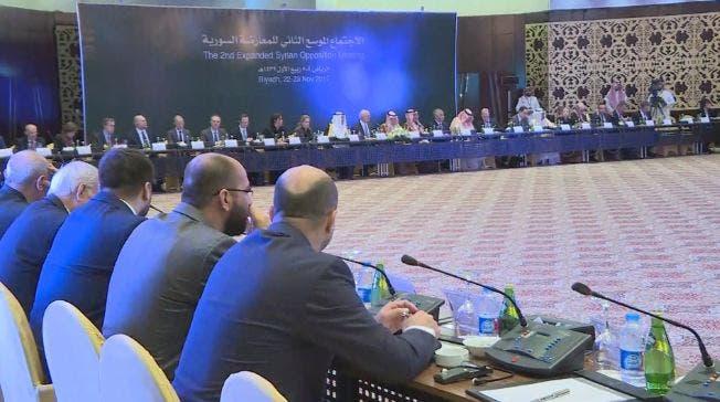 مؤتمر المعارضة السورية فى الرياض