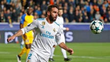 Real's Carvajal charged by UEFA for 'deliberate booking'