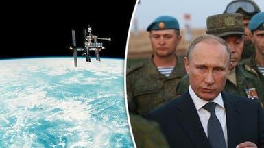 """روسيا تجري تدريباتها بسوريا تحسباً لـ""""حرب الفضاء"""""""
