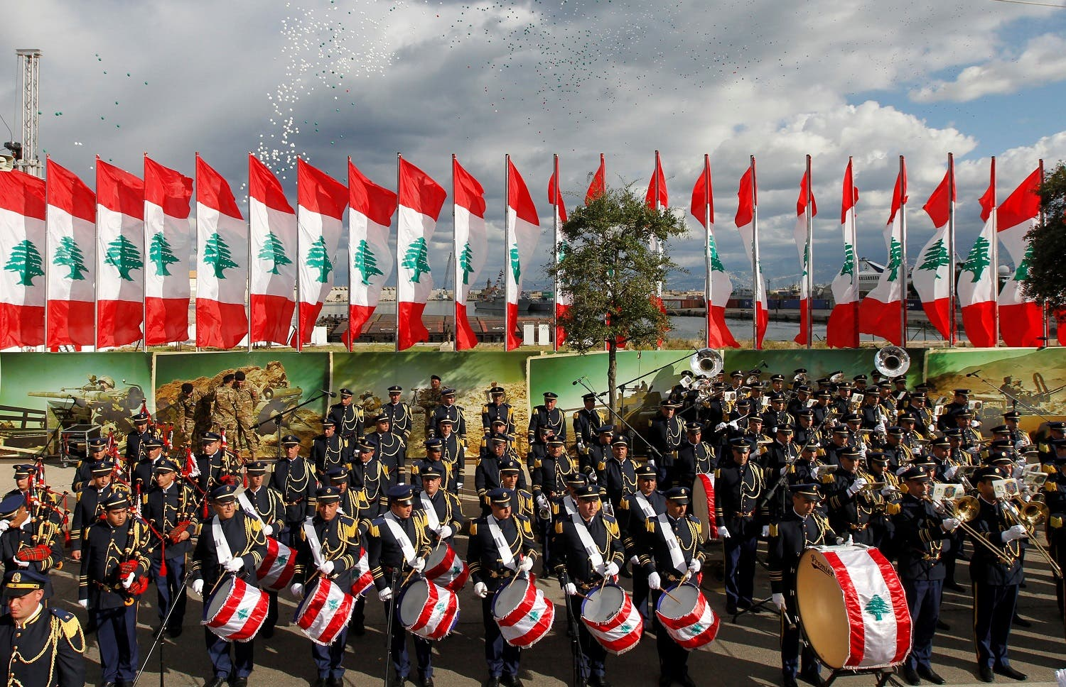 Lebanon celebrates 74th anniversary of it's independence