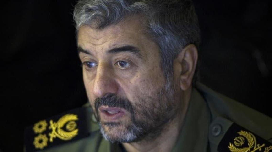 Photo from Reuters archive of Iranian Revolutionary Guard commander Mohammad Ali Jafari
