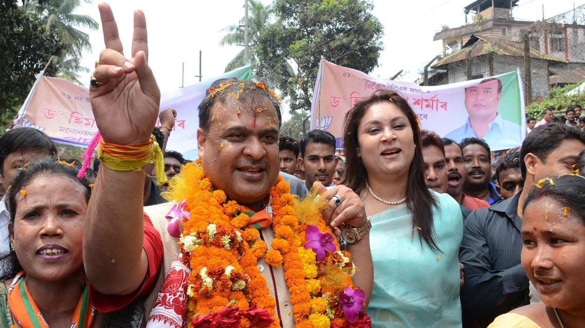 BJP leader, Himanta Biswa Sarma, has sparked sharp reactions with his comments on cancer. (AFP)