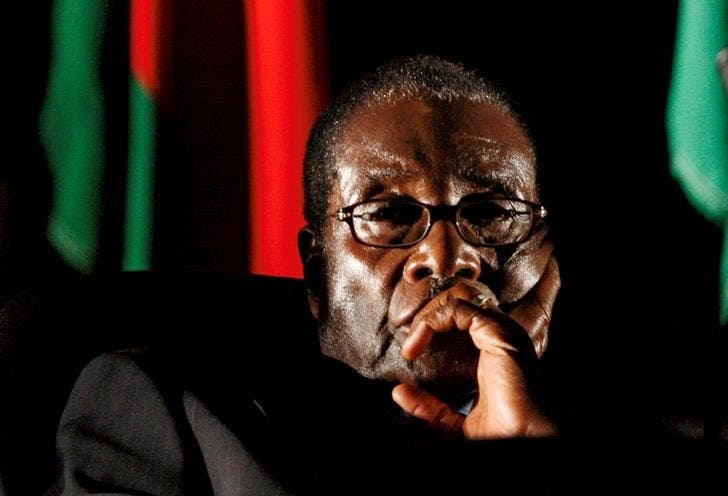 Zimbabwe's former president Robert Mugabe was granted immunity from prosecution and assured that his safety would be protected in his home country. (Reuters)